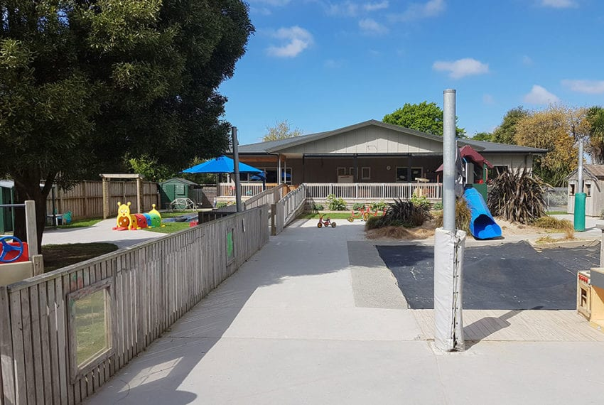 Bishopdale Preschool - Commercial build project Chch