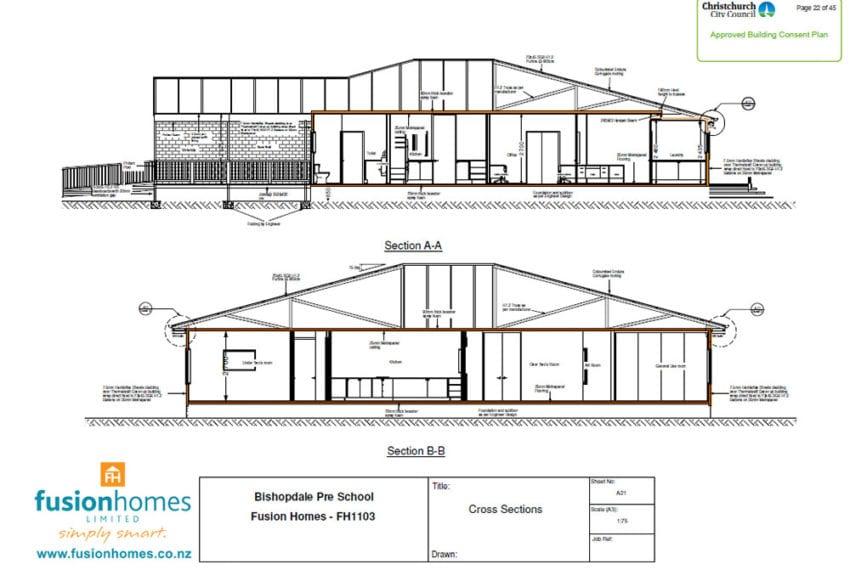 Bishopdale Preschool exterior plans