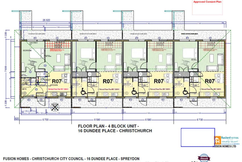 Christchurch Property Development - Dundee Place Plans
