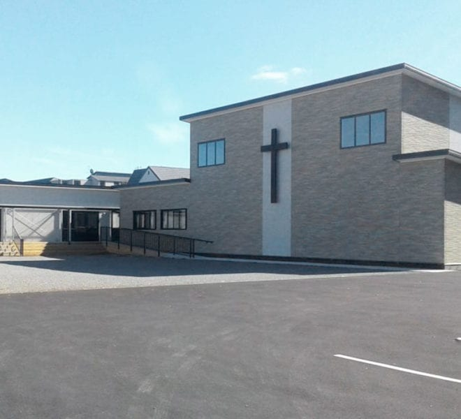 St Mary's Catholic Church - built by Fusion Homes Christchurch
