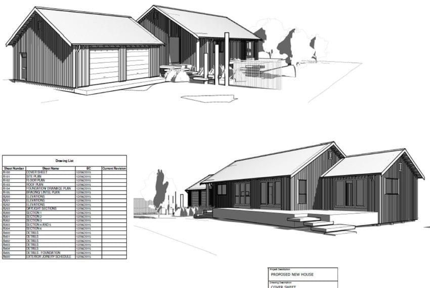 Southshore Low Energy Concept Home - Floor Plans
