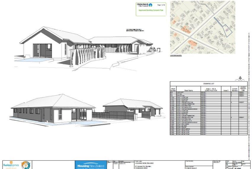 Exterior Plans - Aorangi Road Property Development