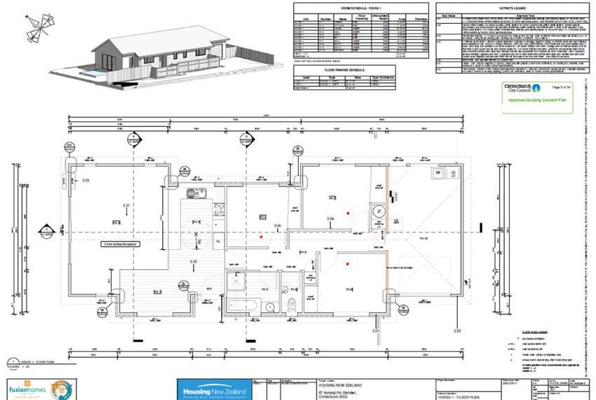Floor Plans - Aorangi Road Property Development
