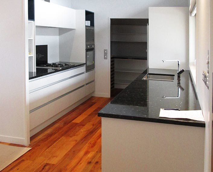 Fusion Home Southshore Residential home build kitchen