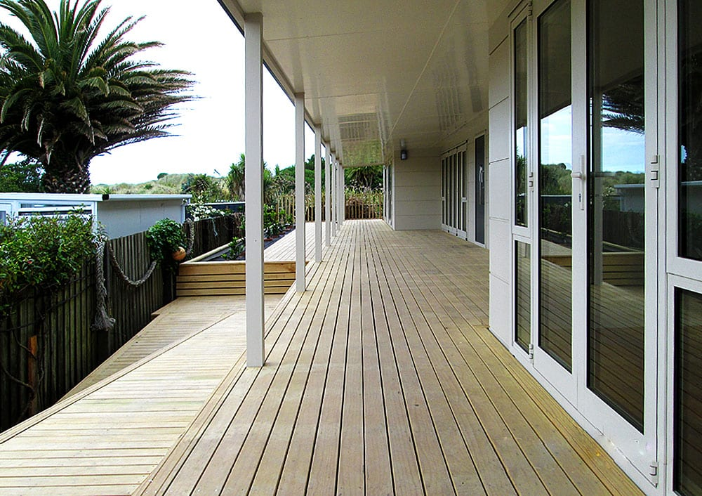 Fusion Home Southshore Residential home build deck