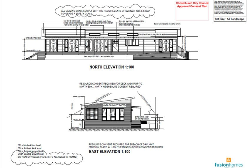 Southshore Residential Build Exterior Plans