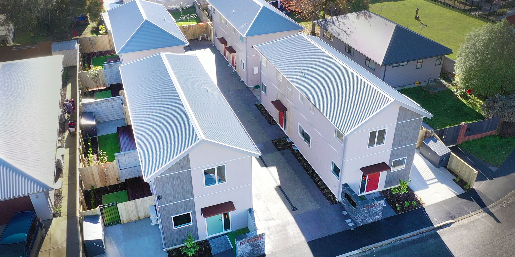 Fusion Homes property development Christchurch