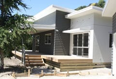 New home build in Mt Pleasant Christchurch